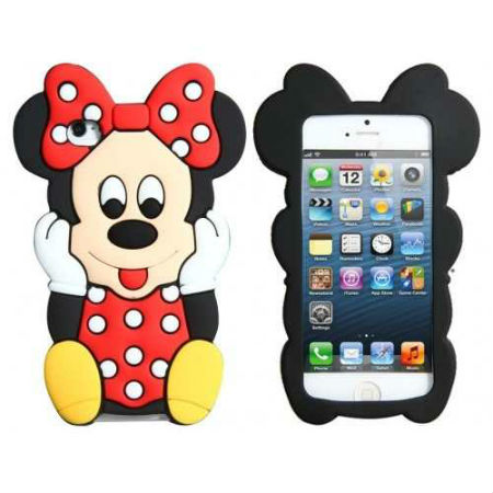 COQUE IPHONE 4 4S MINNIE 3D